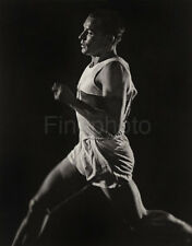 1936 Germany Olympics ERWIN HUBER Track Field Decathlon Photo ~ LENI RIEFENSTAHL