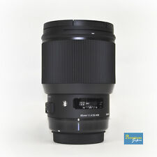SIGMA 85mm F1.4 DG HSM Art Lens for Nikon Mount Japan Model New