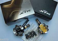 XTR - Coppia pedali Shimano XTR PD-M9000 incluse tacchette/istruzioni b - NEW