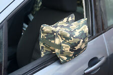 CAMERA BEAN BAG FOR PHOTOGRAPHY, supporting large lenses from a car. Prefilled.