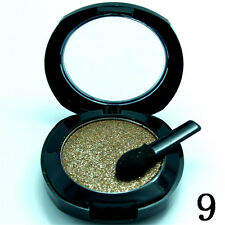 Single Eye Shadow Palette Pressed Powder Makeup Shimmer Metallic Color #09 D2750