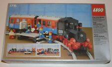 NEW Lego TRAIN 4.5 V 7715 Push-Along Passenger Steam Train * Sealed