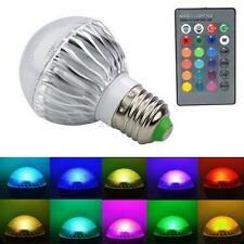 15W E27 led RGB Bulb Light 16 Colors Changing with Wireless Remote Control C33