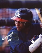 TERRY PENDLETON Photo in action Atlanta Braves 1991 (c) #2