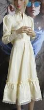 70's Vtg Gunne Sax Maxi Dress Boho Medieval Edwardian Renaissance Wedding 7