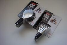 New OXO Good Grips Stainless Steel MagneticSet of Eight Measuring Cups & Spoons