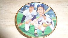 "1990 Gartlan Baseball Mini Plate - 3 1/4"" - Luis Aparicio - Chicago White Sox"