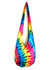 EW35 SHOULDER BAG SLING COOL TIE DYE HOBO MONK UNISEX CAMPING LONG STRAP MEN