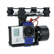 Black CNC FPV BGC 2 Axis Brushless Gimbal w/ Controller for GoPro 3 DJI 1 2