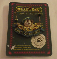 Bearwear Boyds Bears Pin Brooch Greatest f.o.b. on Earth Clown New