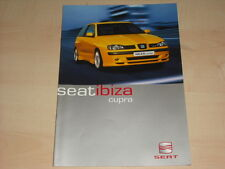 50320) Seat Ibiza Cupra Prospekt 06/2000