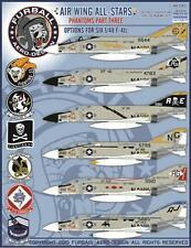 1/48 Furball Decals Phantom F-4J Air Wing All Stars Pt 3 -  48045
