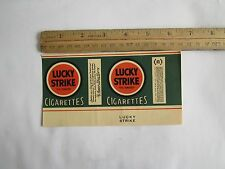 1930S  LUCKY STRIKE Label & 20 Mixed Camel Cash 1C-Note:BIG SALE 2 ITEMS Vintage