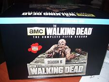 The Walking Dead Season 5 Limited Edition [Blu-ray] BD+UV Walker Zombie  NEW