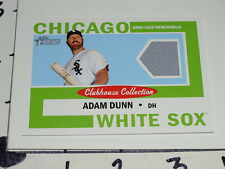 Adam Dunn: 2013 Topps Heritage Game Used Jersey - Chicago White Sox / Reds  NM+