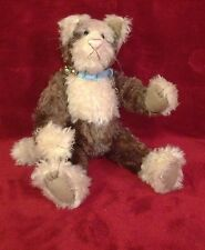 Barbara's Originals Honey Cup Kitty LE #1/6 Handmade Mohair Stuffed Animal Doll