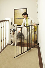North States Easy Swing & Lock Baby Child Pet Gate - Matte Bronze | 4950