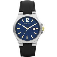 BNEW Liz Claiborne Mens leather Watch