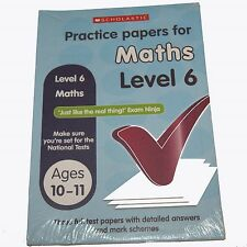 Practice Papers for Maths Level 6  (Age 10-11 Years)