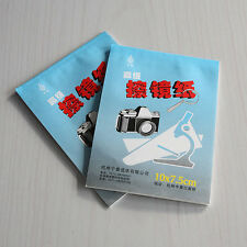 50 Sheets Soft Camera Lens Optics Tissue Cleaning Clean Paper Wipes Booklet