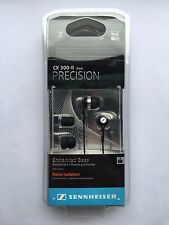 Sennheiser CX 300-II Precision In-Ear Earbuds/Earphones - Black
