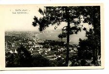 Seaside Resort Town Golfe Juan-France-RPPC-Munier Real Photo Vintage Postcard
