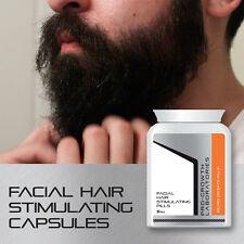 Favorezcan el crecimiento hombres Barba crecimiento Pastillas Facial Hair Grow Grueso espesa barba rápido