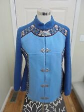 VTG AS EVEBOFOSS OF NORWAY BOILED WOOL PEWTER CLASP JACKET COAT 40 10 MINT