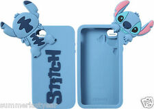 STITCH Disney Lilo and Stitch Rubber 3-D Cell Phone Cover Case Fits iPhone 44S