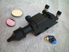 Professional CO2 Laser Mirror Lens Integrative  Mount +1 Si mirror +1 znse lens