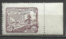 7536A-mnh** SELLO 200 PTS  FISCAL MARINA CIVIL MUTUALIDAD DE ACCIDENTES DEL MAR,