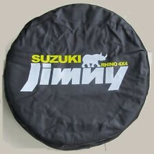 "Suzuki Jimny Rhino 4x4 Spare Wheel Tyre Tire Cover Case Bag Protector 25""26""27""S"