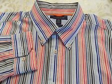 TOMMY HILFIGER COLORFUL STRIPED SHIRT SIZE XL/TG DRESS/CASUAL