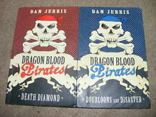 Dragon Blood Pirates Dan Jerris Books 1 Death Diamond & 2 Doubloons & Disaster