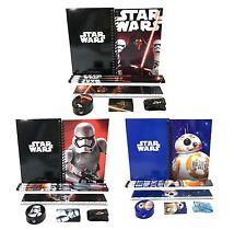 Star Wars Kylos Ren BB-8 Stationary Set Pencil Eraser Ruler School Supply