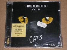 """ANDREW LLOYD WEBBER - HIGHLIGHTS FROM """"CATS"""" - CD SIGILLATO (SEALED)"""