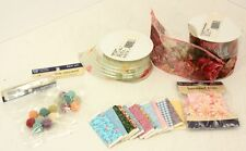 Doll House Miniature Supplies Bolts of Cloth, Balls of Yarn Ribbons for Curtains