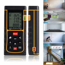 80m/262ft Digital Laser Distance Meter Range Finder Measure Diastimeter