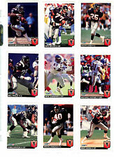 1992 Fleer Football : Pick 10 Cards To Complete Your Set $ 1.00 NM/M