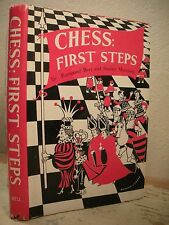 CHESS FIRST STEPS Bott 1958 HC/DJ Basic Principles Of Game Openings Strategy