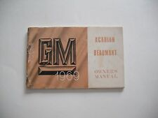 1969 BEAUMONT and ACADIAN OWNERS MANUAL(CANADIAN  PONTIAC) - NEW, UNRESERVED!!