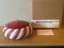 Longaberger Master's Studio Collection Peppermint Basket - Mint in Box