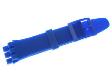17mm New High Quality Soft Rubber Watch Band Strap For (Fits) SWATCH