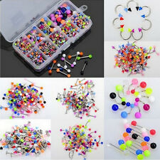 Wholesale Body Jewelry Eyebrow Navel Belly Tongue Nose Piercing Bar Ring Great