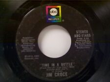 "JIM CROCE ""TIME IN A BOTTLE / HARD TIME LOSIN MAN"" 45"