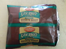 2 Pounds Farmer Brothers Medium Roast Decaf Coffee Sealed 2oz Packages