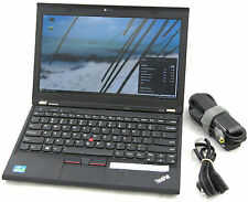 "Lenovo Thinkpad X230 12.5"" Core i5 2.60GHz 4GB 320GB Laptop Adapter WiFi Web Cam"