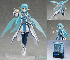 Hot! Anime Gift Sword Art Online II Asuna ALO ver. figma 264 Figure In Box 15cm