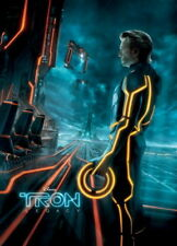 Tron: Legacy Original Movie Poster 27X40 Jeff Bridges, 27x40 Double-Sided Adv St