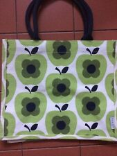 Orla Kiely Limited Edition for tesco shopping bag, GREEN APPLE